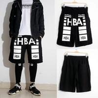 Wholesale Hba Mens Clothing - Wholesale-2016 Summer Fashion shorts Men's Clothing Pyrex HBA Mens Shorts Hip Hop cargo bermuda masculina Cotton casual