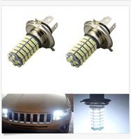 Vente en gros 12V Xenon White H4 9003 120 SMD LED Ampoule High Low Beam Lamp Head Sales
