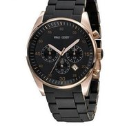 Wholesale Mens Rose Gold Chronograph - Wholesale-New Brand AR5905 AR5890 Fashion Luxury Rose Gold Watches 5905 5890 Mens AR5922 CHRONOGRAPH WRIST WATCH