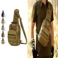Wholesale Quality Tactical Backpack - High Quality Outdoor Shoulder Tactical Backpack Rucksacks Sport Camping Travel Bag Day Backpack Shoulder Bag Large Size Multi-function bags