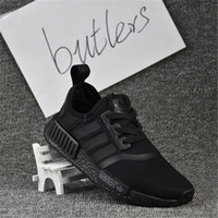 Wholesale Camo Golf Shoes - 2017 Adidas NMD Runner Primeknit Camo Pack Yellow Blue Pink Men Women Running Shoes Sneakers Originals Classic Super Star Casual Shoes 36-46