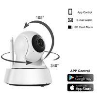 безопасность видений оптовых-2017 новый Главная Безопасность Беспроводная мини камера IP камера видеонаблюдения Wifi 720P ночного видения камеры видеонаблюдения Baby Monitor