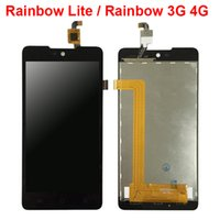 Display LCD per Wiko Rainbow Lite / Rainbow Jam 3G 4G Display LCD per pannelli con sostituzione Touch Screen Digitizer Assembly