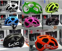 Wholesale Bike Helmet Sizing - poc Octal Raceday Road Helmet Cycling Men's Women's Eps Ultralight Mtb Mountain Bike Comfort Safety Cycle Bicycle Size M 54-60cm