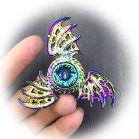 Wholesale Wholesale Adult Wings - Multicolor Magic Dragon Wings Fidget spinner EDC Hand Spinner For Autism and ADHD Rotation Time Long Anti Stress Adult Toys