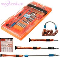 Wholesale opening tool kit for laptop resale online - 20set in Nonslip Rubber Handle Premium For iphone Opening Repairing Tool Kit Fix Laptop JM Screwdriver Set