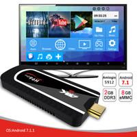 tv андроиды палочки оптовых-Н96был про донгл TV Андроида 7.1 стик ТВ коробка Amlogic S912 64bit Окта основные 2G 8 ГБ Связь Bluetooth 4.1 беспроводной 4K полное HD мини-ПК