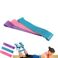 Wholesale Crossfit Pink - Tension Resistance Band Pilates Yoga Rubber Resistance Bands Fitness Loop rope Stretch Bands Crossfit Elastic Resistance Band Bodybuilding