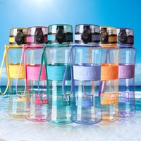 Wholesale Drinks Bottle Filter - Water Bottles Leak-Proof Seal 350ml 450ml 600 1000 Nozzle Sport Bicycle Plastic Tritan Water Bottles Cup With Cover Lip Filter