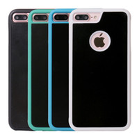 Wholesale stick tiles - Anti Gravity Case for 6 6S 7 Plus   Samsung Galaxy S6 S7 Edge S8 Plus Magical Nano Can Stick to Glass Tile and Smooth Flat Surfaces