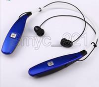 Wholesale Ear Headphone Bluetooth Radio Mp3 - Bluetooth headset HBS-900T Wireless Music Earphone Bluetooth Headset HBS 800 HBS900 Sport Mp3 Earphones Headphones Support TF Card+FM Radio