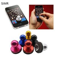 Wholesale Multi Arcade - 2017 Hot New Item SIMR Useful Joystick Arcade Game Stick Controller Multi Color Touchable Smart Phone Rocker Joypad Color Random