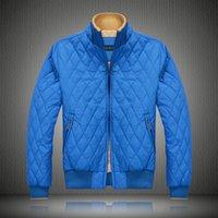 Wholesale Winter Jackets Down Plaid - 2017 Men's Jackets Solid Fashion Coats Male Casual Slim Winter men Ultralight Down Jacket Outdoors Collar Winter Parka Coat
