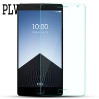 Wholesale One X Screen Guard - Wholesale-9H 0.26mm Tempered Glass For Oneplus One Two Three X Screen Protector For Oneplus 1 2 3 X Glass screen protective flim guard