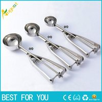 Wholesale Digging Tools - Stainless steel ball watermelon fruit spoon to dig the ball is the ball of ice cream scoop to dig dig spoon fruit platter multi-purpose tool