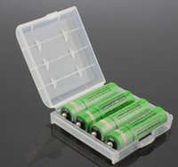 Wholesale Cheap Aa Battery Holders - Free shipping amazing cheap price convenient Hard Plastic Case Cover Holder for AA AAA Battery Storage Box