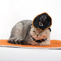 Wholesale Halloween Magician Hat - Halloween Magic Clothes for Magician Pet Costume Clothes Cat Dog Christmas Gift Pet Coat Cats Dogs Coat Clothing with Hat