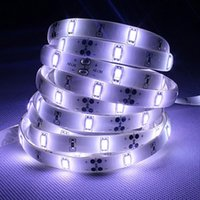 SMD5630 60led / m Led Strips Lights High Bright usine vente DC12V double face PCB Boards décoration lumières