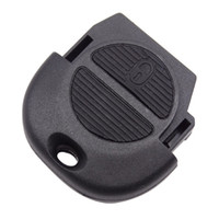 botonera nissan con control remoto al por mayor-Key Shell 2 Button Remote Keyless Case para NISSAN Almera Primera Micra X-Trail VE364 W0.5