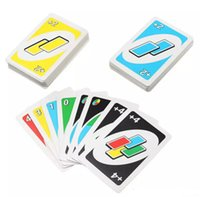Jeux de cartes UNO Carte de poker Family Fun Entermainment Jeu de société Standard Edition Kids Jeu de puzzle amusant Christmas Gifts