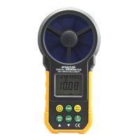Wholesale Rh T - Freeshipping Digital Anemometer T&Rh Sensor Air Wind Speed Velocity Meter USB Interface