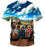 ingrosso anti lontano-Nuovi uomini / donne di modo Gioco Far Cry 5 Summer Style Divertente Unisex 3D Print Casual T-Shirt S --- 5XL AA683