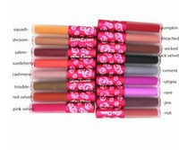 52 Colors Lipstick Make up L-ime C-rime Lipstick Good Quality Matte Lipstick Matte Lipgloss with Waterproof