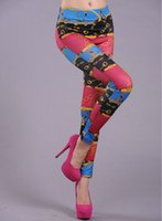 Wholesale Pants Lock - Chain skinny pants Plum girl leggings tight Lock fitness wear Black milk Outdoor sportwear Sport gym clothing