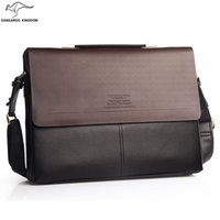 "Wholesale Kangaroo Kingdom - Wholesale- Kangaroo Kingdom Famous Brand Men Briefcase Business 13"" Laptop Bag"