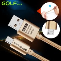 Wholesale Tablet Huawei Mediapad Fhd - Wholesale- GOLF Brand 1m 2m Micro USB Chargering Data Sync Cable For Huawei MediaPad 10 FHD Link S10-231U 10.1 Tablets Battery Charge