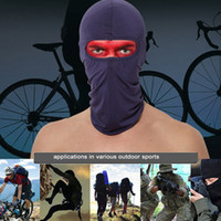 Wholesale Motor Cycles - Windproof Cycling Mask Thermal Face Mask Neck Warmer Full Face Riding Mask Cap Motor Anti Dust Lycra Fabric 12 Hot Colors