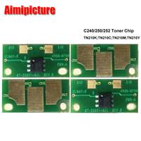 Wholesale Reset Toner Cartridge - Toner Chip used for Minolta Bizhub C250 C252 C240 TN210 reset toner cartridge chip 8938-509 8938-510 8938-511 8938-512 BK C M Y toner chip