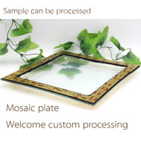 Wholesale Imitation Products China - Supply stable plate festival activities are Home Furnishing mosaic decoration promotional gifts, holiday gift products exports