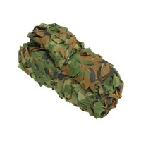 Wholesale Camo Car Covers - 300cm x 300cm Outdoor Hunting Camping Military Camouflage sun shelter jungle net Woodlands camo blind starp car cover tent