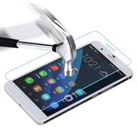 lenovo vibe protection оптовых-Оптовая продажа-9 H закаленное стекло-Экран протектор для Lenovo P70 P780 S60 S660 S850 A328 A2010 K3 Примечание Vibe P1 Vibe выстрел телефон защитная пленка