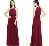 aline empire carpets prices price burgundy chiffon a line evening dress jewel neck
