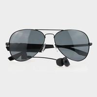 Wholesale 1 piece Gonbes K3 A Smart sunglasses Bluetooth Sunglasses for men women With Voice Control Function Music sport sunglasses iPhone Samsung