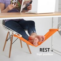 Wholesale Hammock for Office Siesta Afternoon Sleep Nap with Desk Hanger Hammock Rest Foot Noon Time Snooze Outdoor Furniture