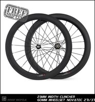 Wholesale Most Carbon Road Wheels - 2014 most popular 23mm width carbon Racing Road 60mm tubular 700c Series wholesale china wheel from china new