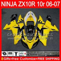 Wholesale Yellow 2006 Kawasaki Zx10r Ninja for Resale