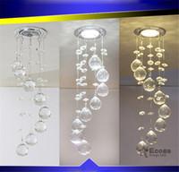 pequeñas luces de techo del pasillo al por mayor-Cristal LED Iluminación para el hogar Luz de techo Pequeña lámpara de techo Lámpara de techo Lámpara colgante Pasillo
