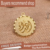 Wholesale Custom metal logo badges badges personalized design free design Chinese manufacturers direct sales three dimensional craft badges