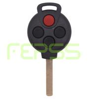 benz anahtarının değiştirilmesi toptan satış-Yeni Yedek Uzaktan anahtar Fob 315 MHz Mercedes-Benz Smart Fortwo için 4 Düğme