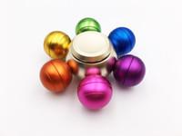 bolas de metal dragão venda por atacado-Chegada nova Dragon Ball Alloy Hexagonal Fidget Spinner Hexa-spinner EDS Anti-stress Rotação Multicolor Mão De Metal Spinners Pião 100