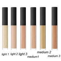 Wholesale Eyes Foundation - 2017 RADIANT CREAMY concealer Cosmetics Face Eye Powder Plus Foundation Concealer Makeup Anti Cernes Eclat 6ml With Brush Texture Cremeuse