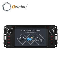 Wholesale Dodge Radio Gps - Ownice C500 Android 6.0 4 Core Car DVD GPS Navi Radio For Jeep Grand Cherokee Compass Commander Wrangler DODGE Caliber 4G LTE
