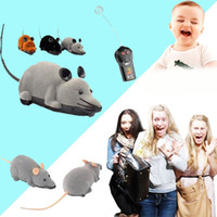 Wholesale Dog Remote Sound - Wireless ARC Mouse Remote Control Rat Electronic Toy For Cats Dogs Pets Gift