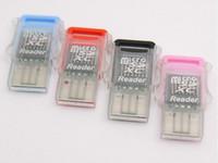 lecteur de cartes usb multi-slot achat en gros de-Nouvel adaptateur de lecteur de carte flash Micro SD / SDXC TF ultra-clair à super vitesse USB 2.0