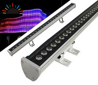 led bar appliques extérieures achat en gros de-18W 36W LED mur rondelle RGB 36W lavage mur LED lampe inondation de lumière barre de lumière lumières barlight LED projecteur paysage extérieur éclairage extérieur 2020