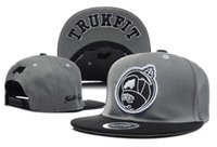 Wholesale Trukfit Purple - Strapback caps 2018 Hot Sale new Men's Trukfit Snapback hats caps Women adjustable basketball tennis sports Bones Gorras cap free shipping